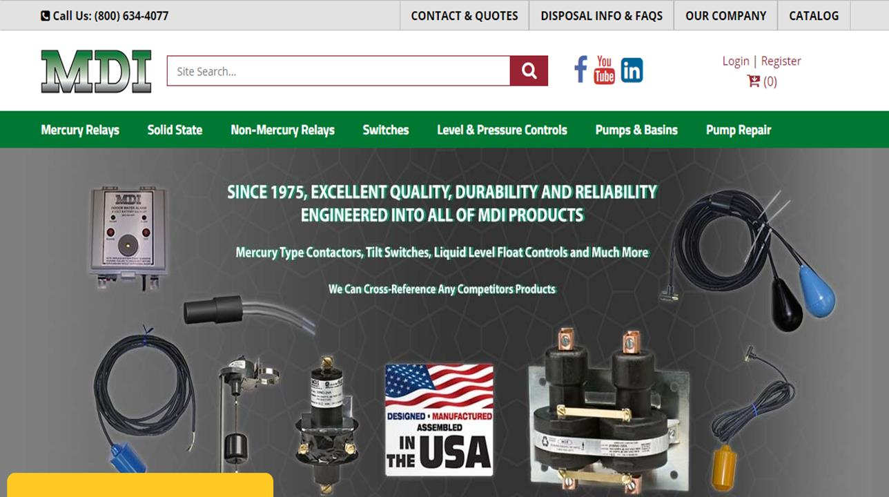 Mercury Displacement Industries, Inc.