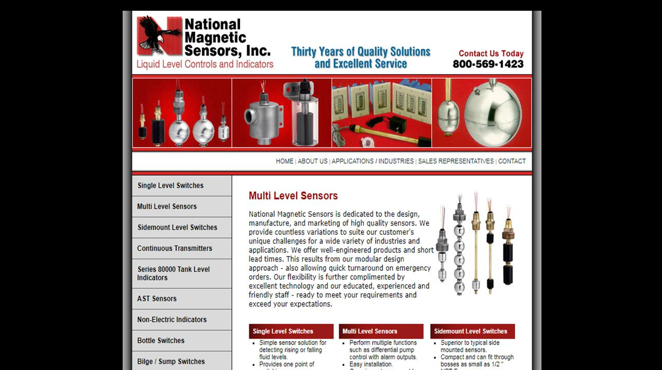 National Magnetic Sensors, Inc.